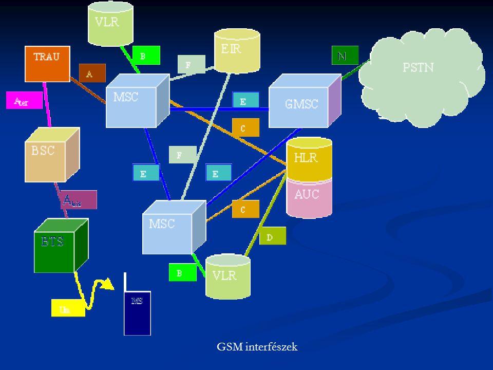 GSM interfészek