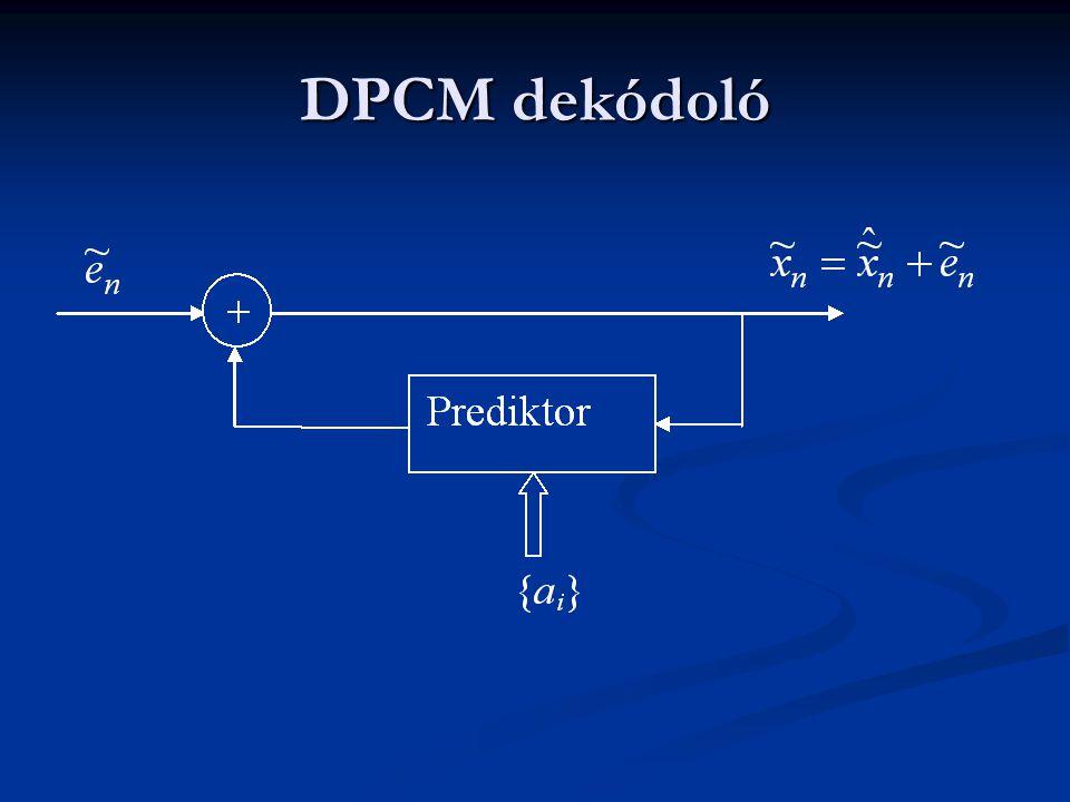 DPCM dekódoló