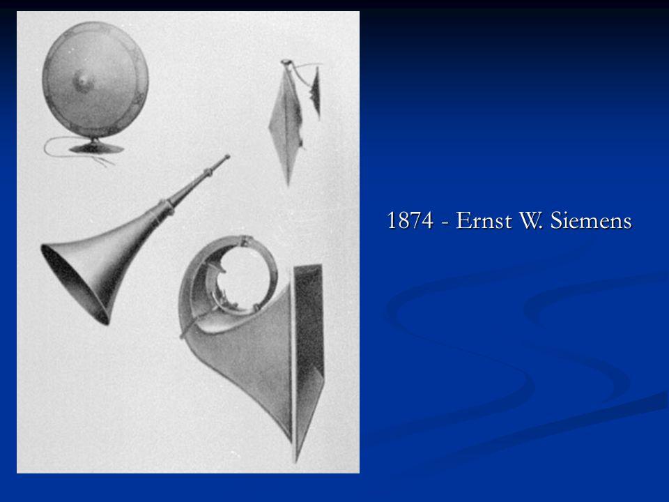 1874 - Ernst W. Siemens