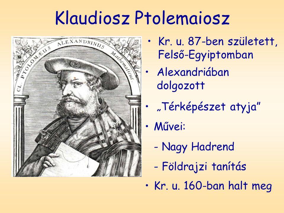 Klaudiosz Ptolemaiosz