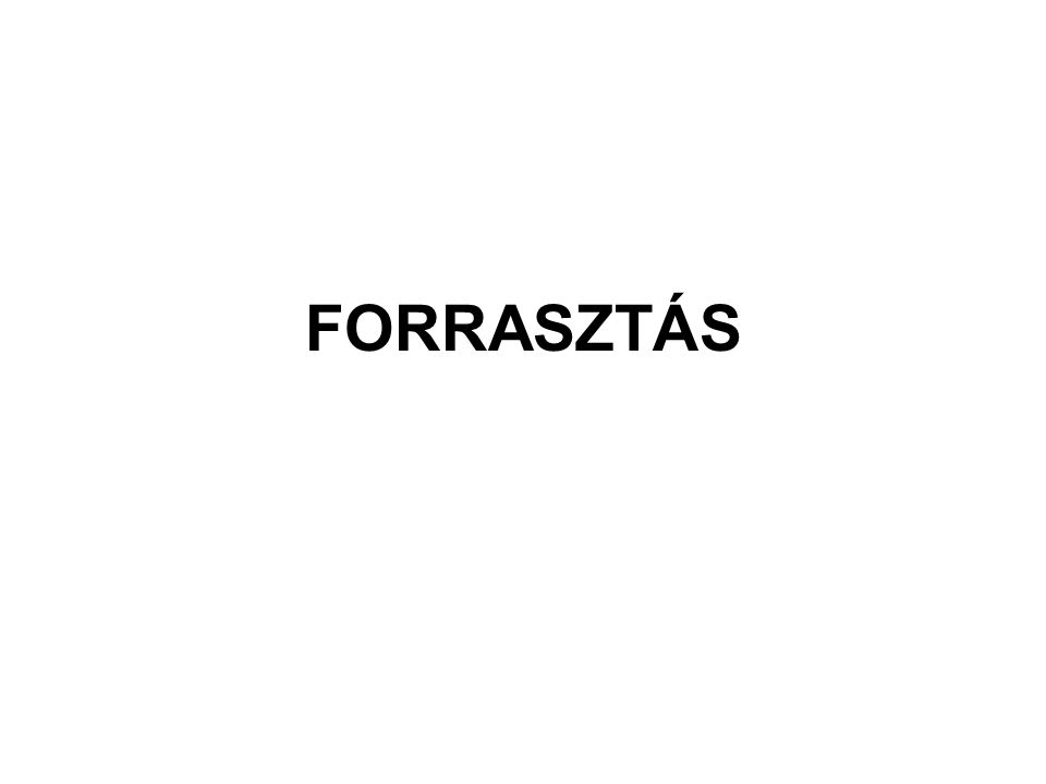 FORRASZTÁS
