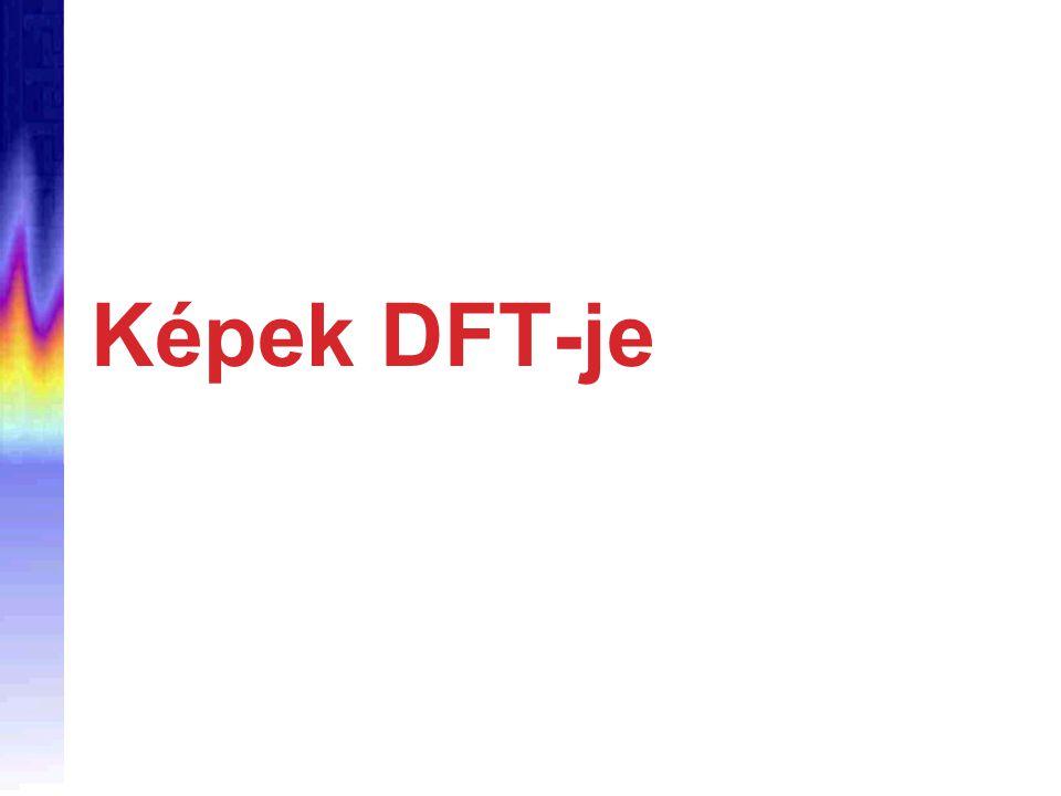 Képek DFT-je