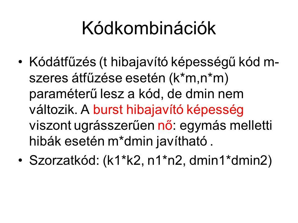 Kódkombinációk
