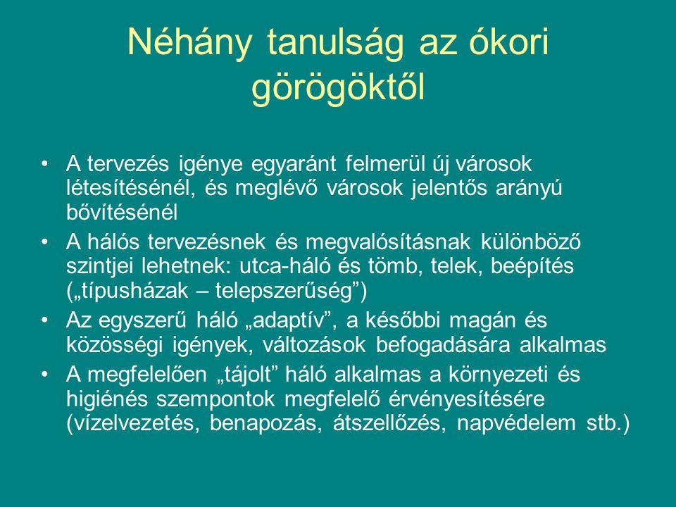 Néhány tanulság az ókori görögöktől