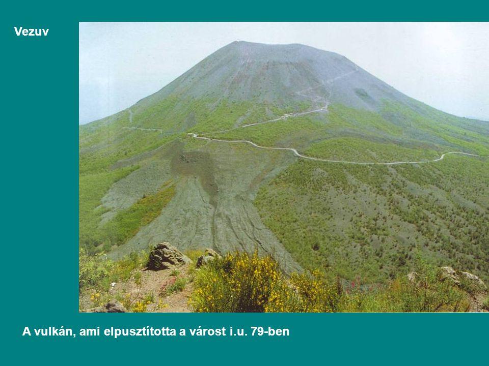 Vezuv A vulkán, ami elpusztította a várost i.u. 79-ben