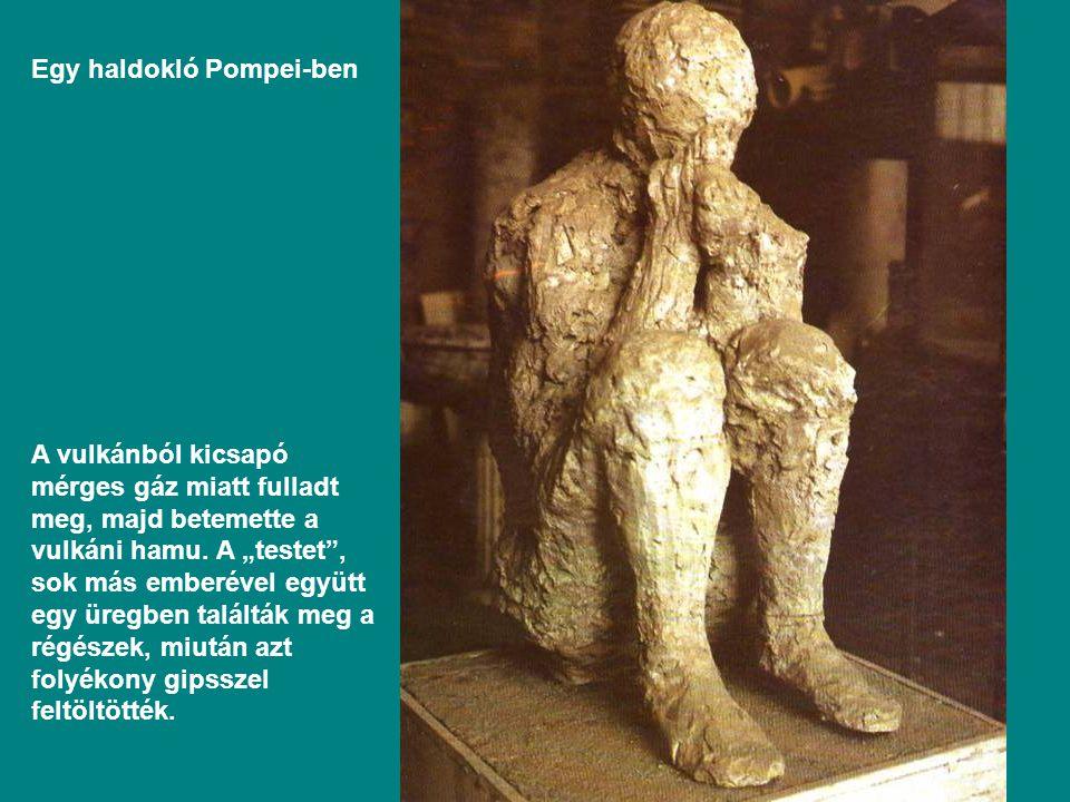 Egy haldokló Pompei-ben