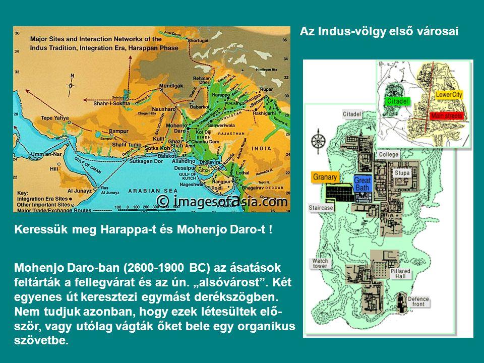 Az Indus-völgy első városai