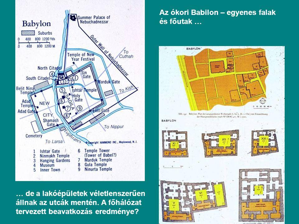Az ókori Babilon – egyenes falak és főutak …