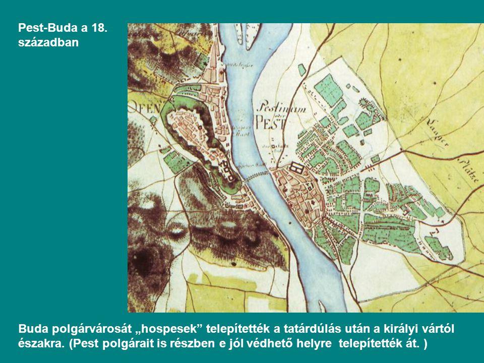 Pest-Buda a 18. században