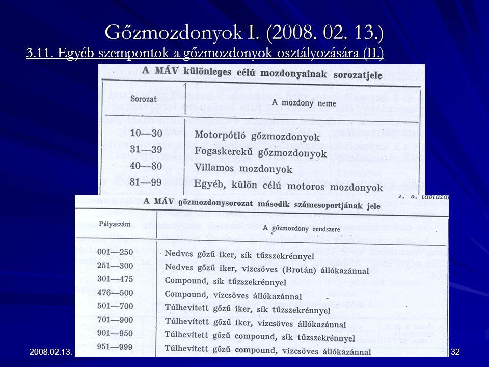 Gőzmozdonyok I. (2008. 02. 13.) 3.11.