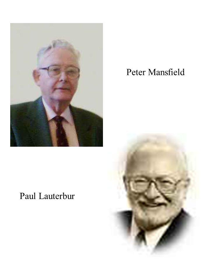 Peter Mansfield Paul Lauterbur
