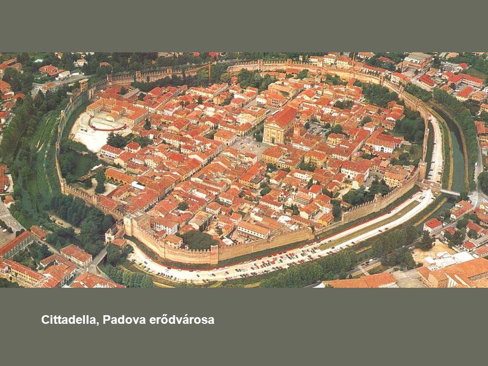 Cittadella, Padova erődvárosa