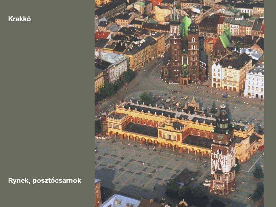 Krakkó Rynek, posztócsarnok
