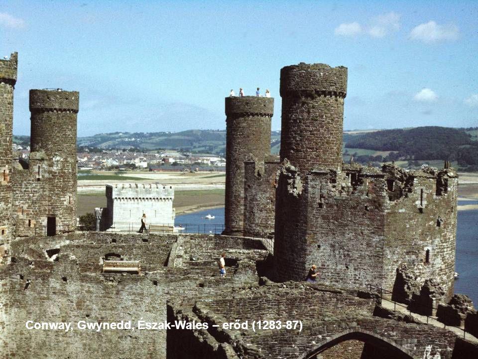 Conway, Gwynedd, Észak-Wales – erőd (1283-87)