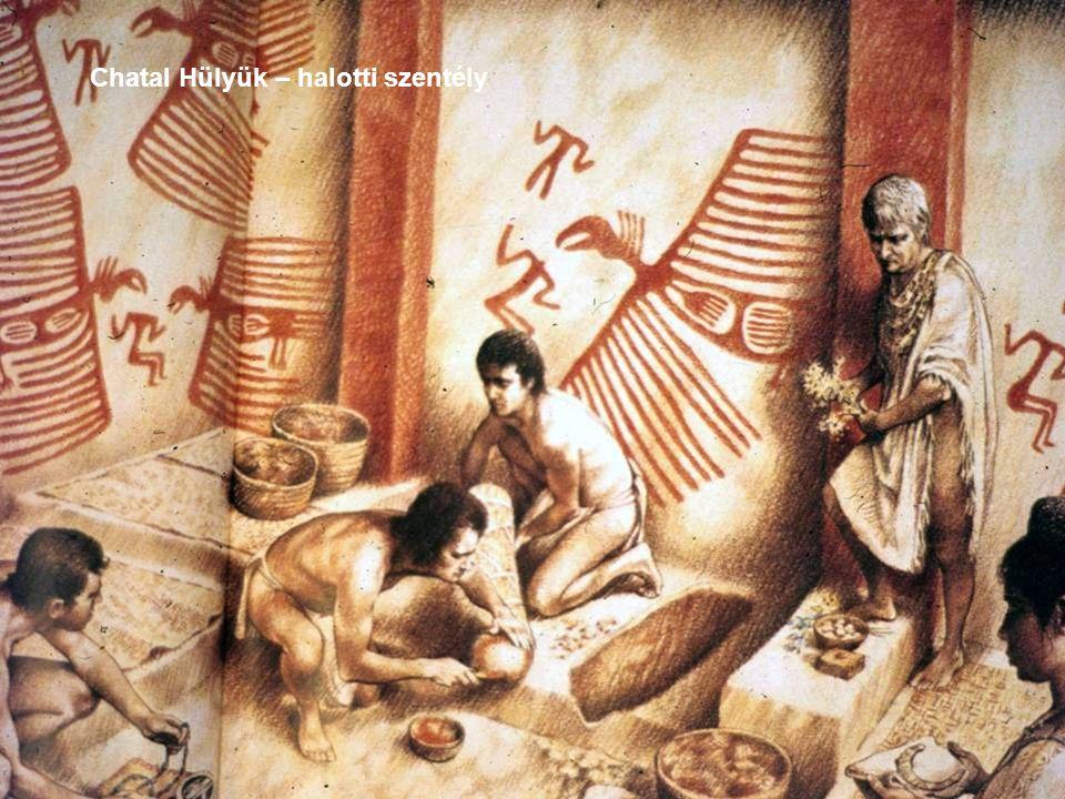 Chatal Hülyük – halotti szentély