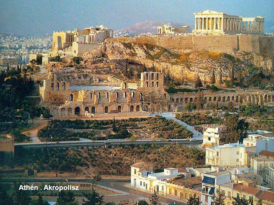 Athén . Akropolisz