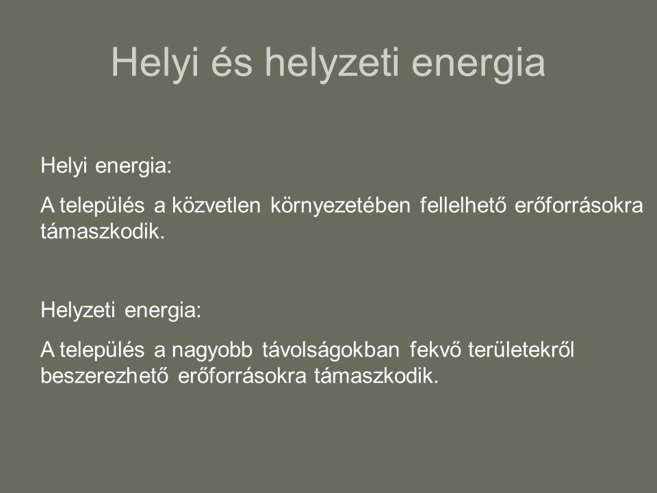 Helyi és helyzeti energia