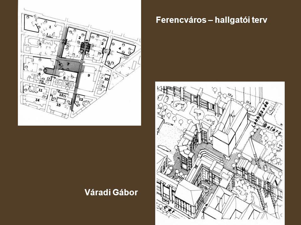 Ferencváros – hallgatói terv