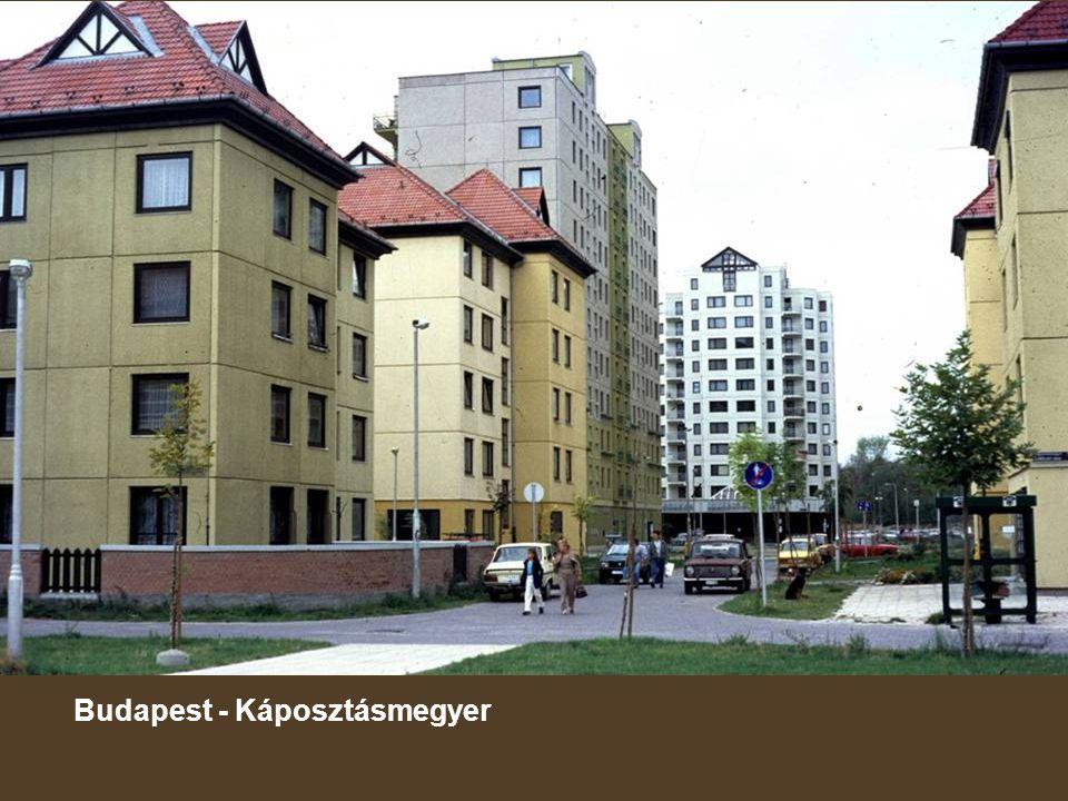 Budapest - Káposztásmegyer