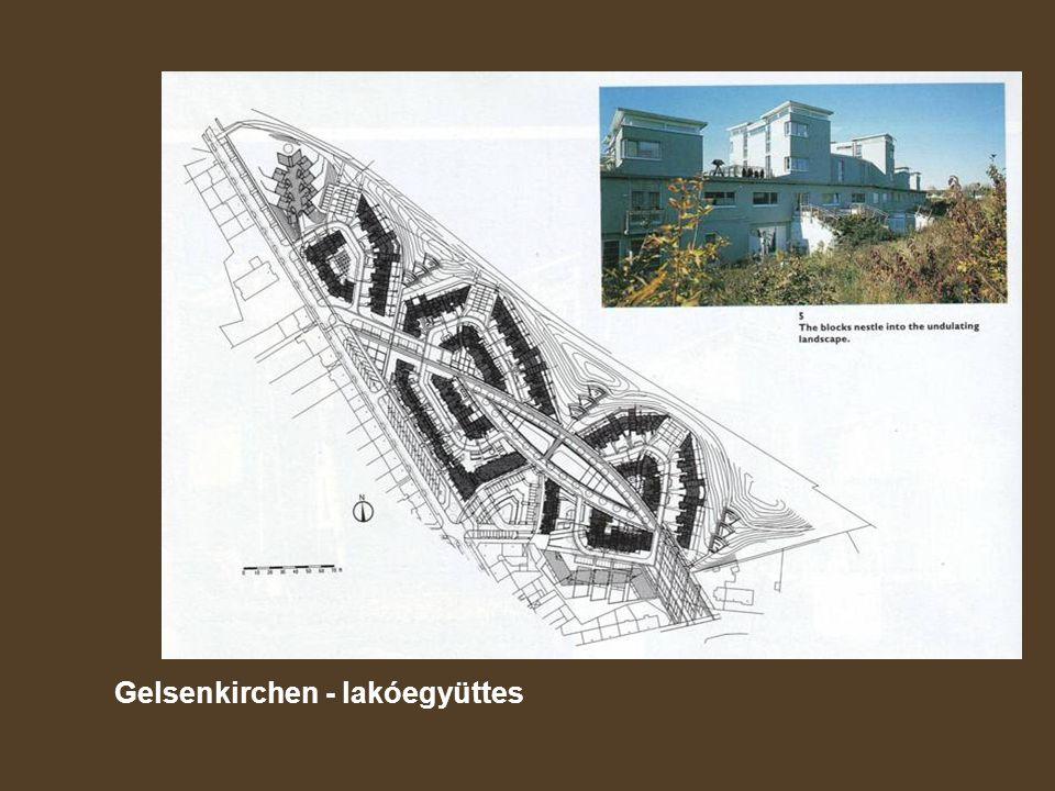 Gelsenkirchen - lakóegyüttes