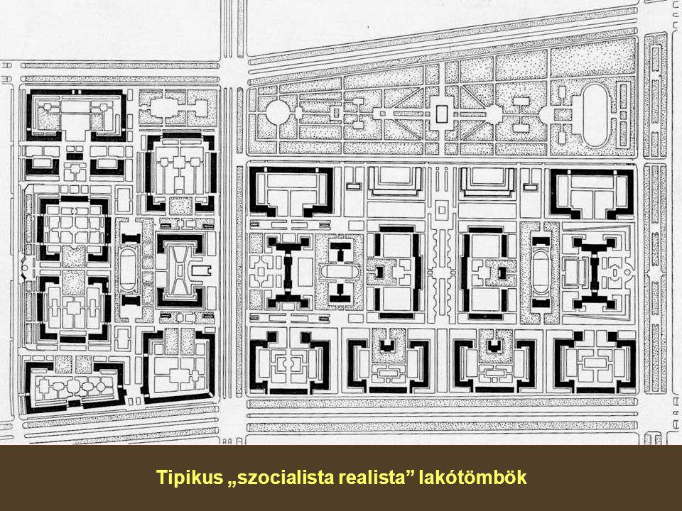 """Tipikus """"szocialista realista lakótömbök"""