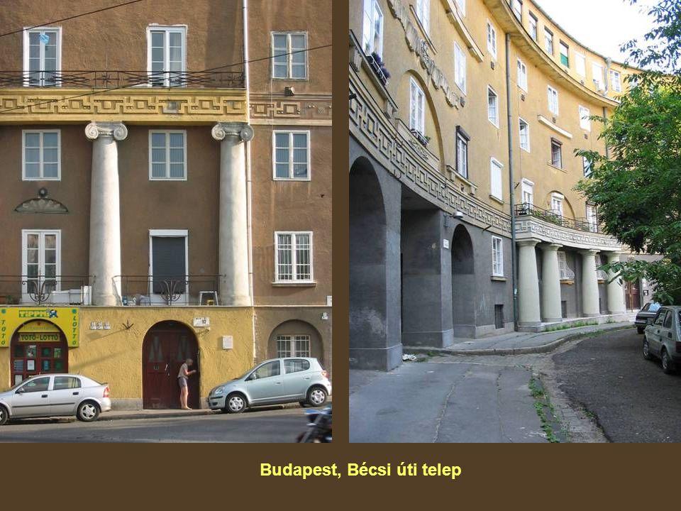 Budapest, Bécsi úti telep