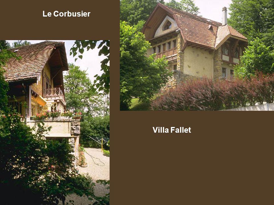 Le Corbusier Villa Fallet