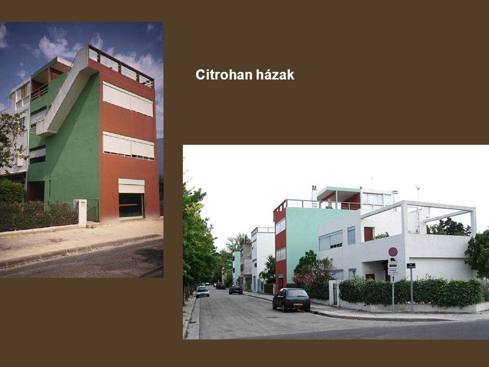 Citrohan házak