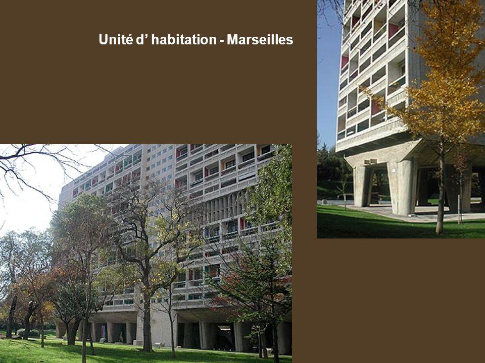Unité d' habitation - Marseilles