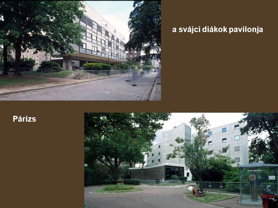 a svájci diákok pavilonja
