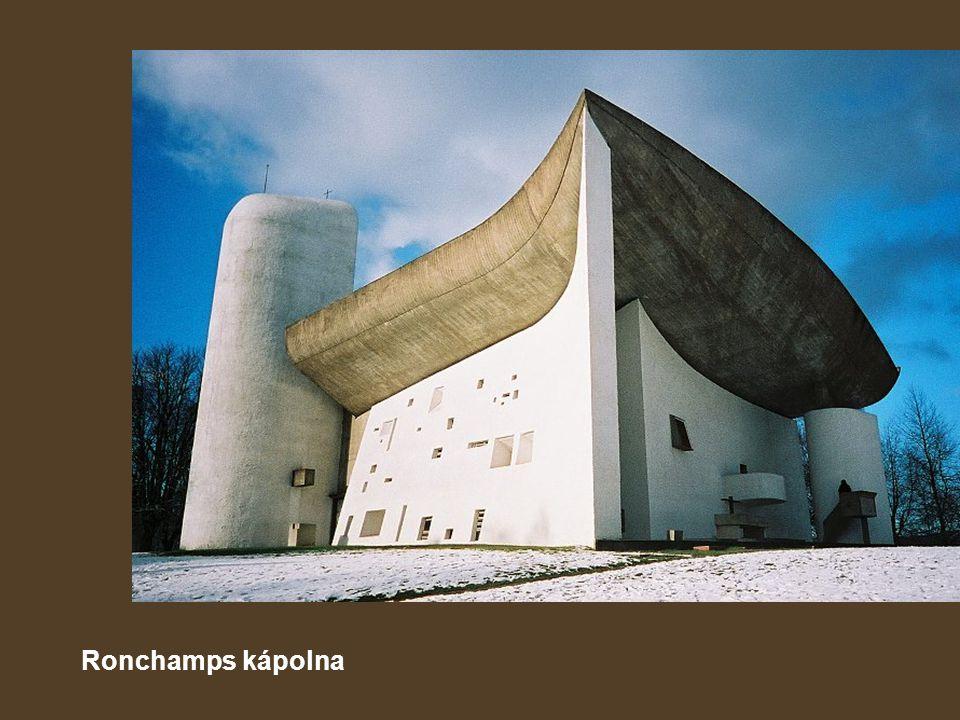 Ronchamps kápolna