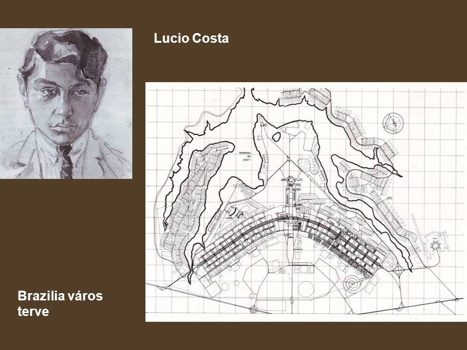 Lucio Costa Brazilia város terve