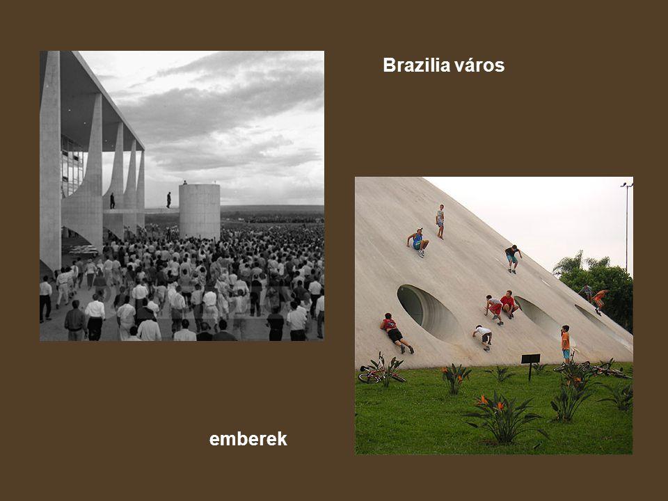 Brazilia város emberek