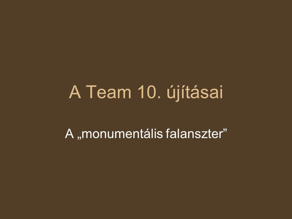 """A """"monumentális falanszter"""