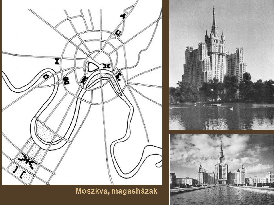 Moszkva, magasházak