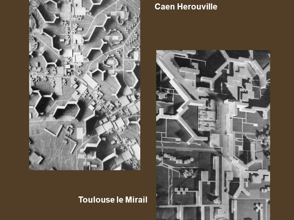 Caen Herouville Toulouse le Mirail