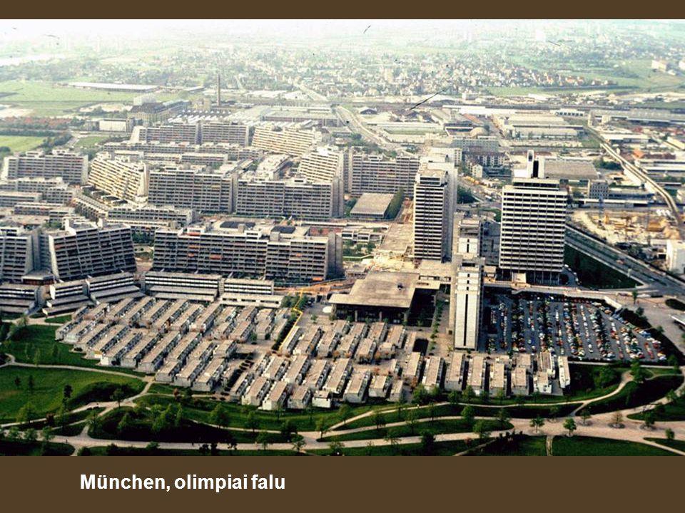 München, olimpiai falu