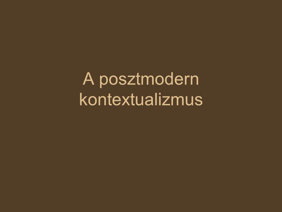 A posztmodern kontextualizmus