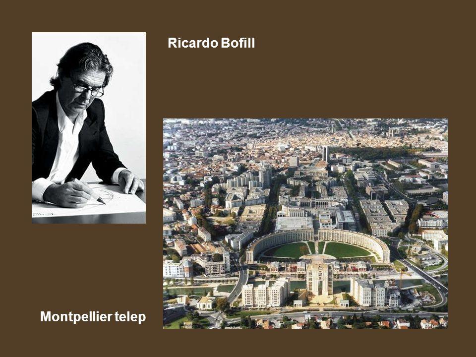 Ricardo Bofill Montpellier telep