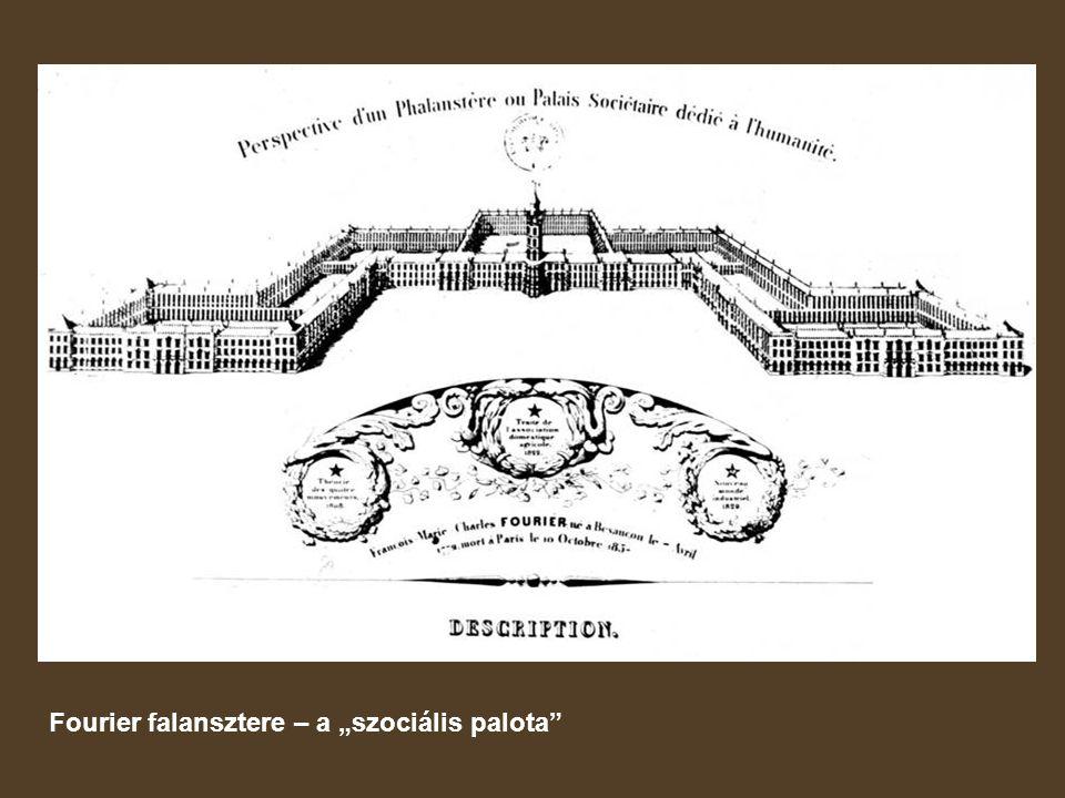 """Fourier falansztere – a """"szociális palota"""