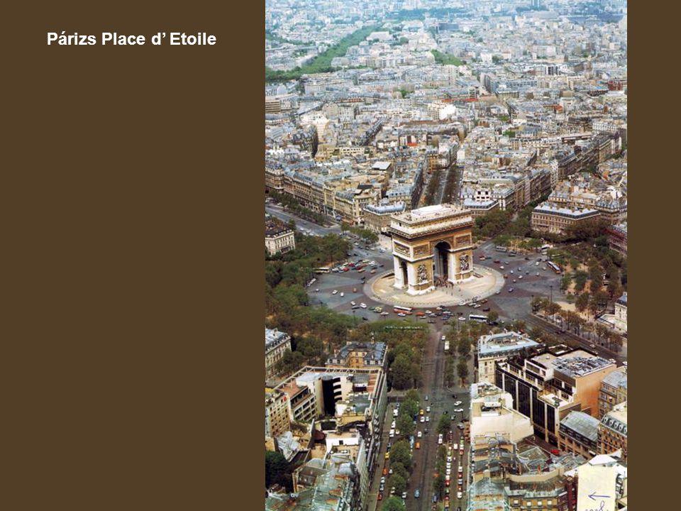 Párizs Place d' Etoile
