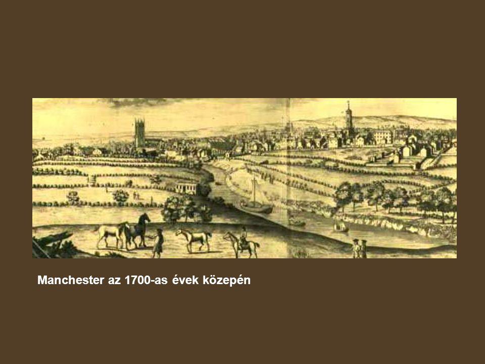 Manchester az 1700-as évek közepén