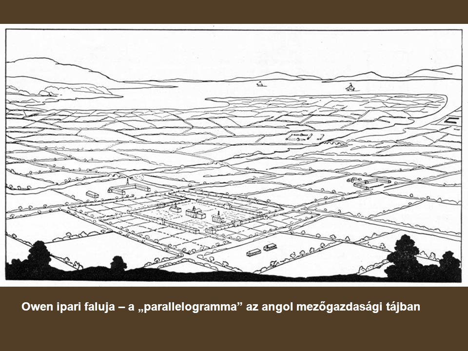 """Owen ipari faluja – a """"parallelogramma az angol mezőgazdasági tájban"""