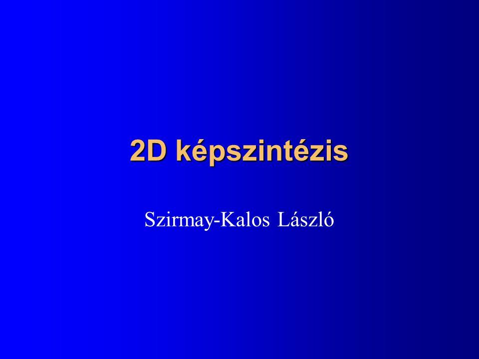 2D képszintézis Szirmay-Kalos László