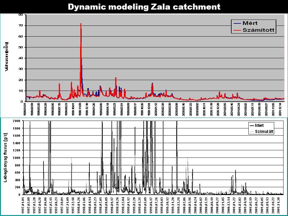 Dynamic modeling Zala catchment