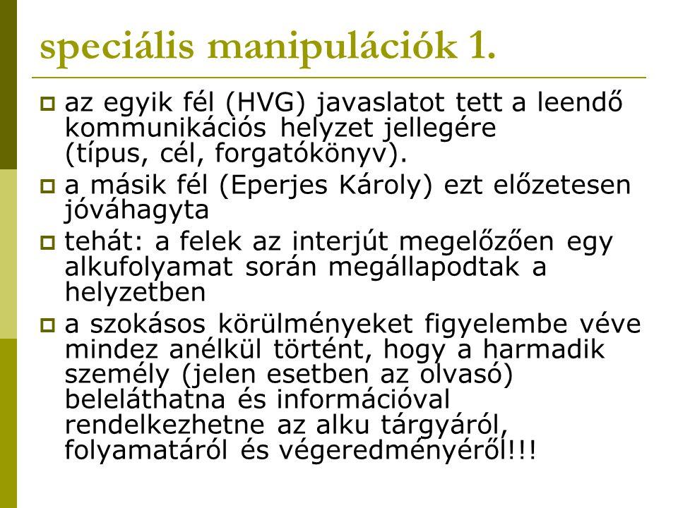 speciális manipulációk 1.