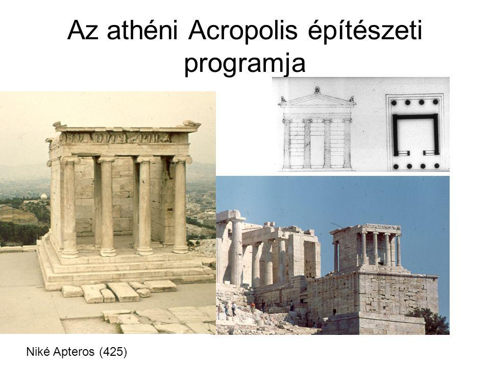 Az athéni Acropolis építészeti programja