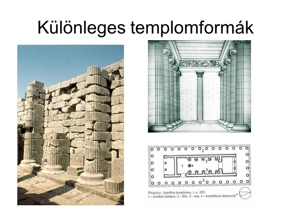 Különleges templomformák
