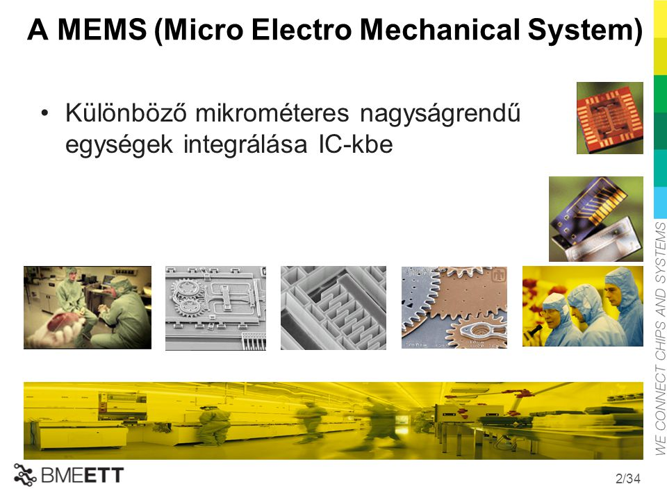 A MEMS (Micro Electro Mechanical System)