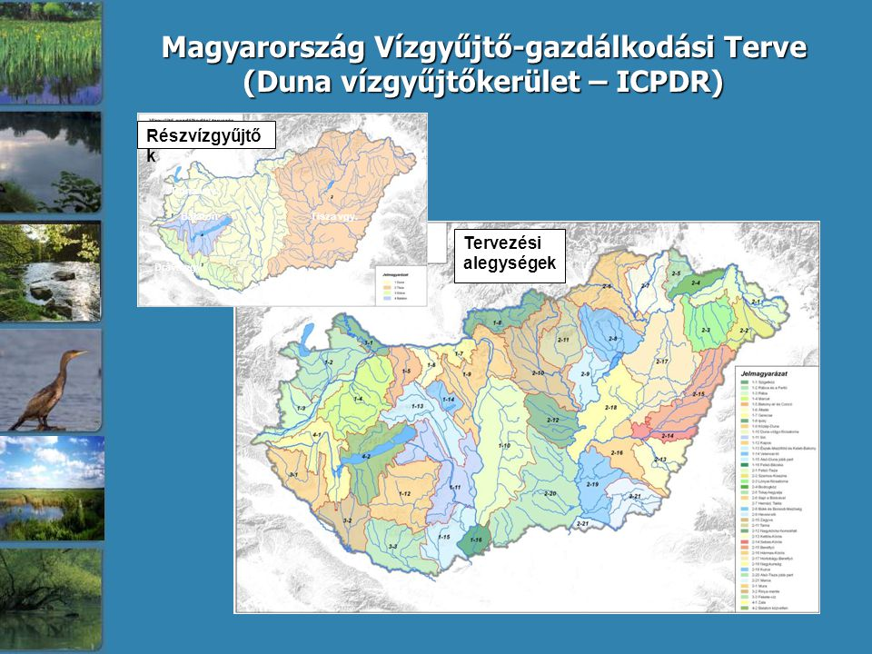 (Duna vízgyűjtőkerület – ICPDR)